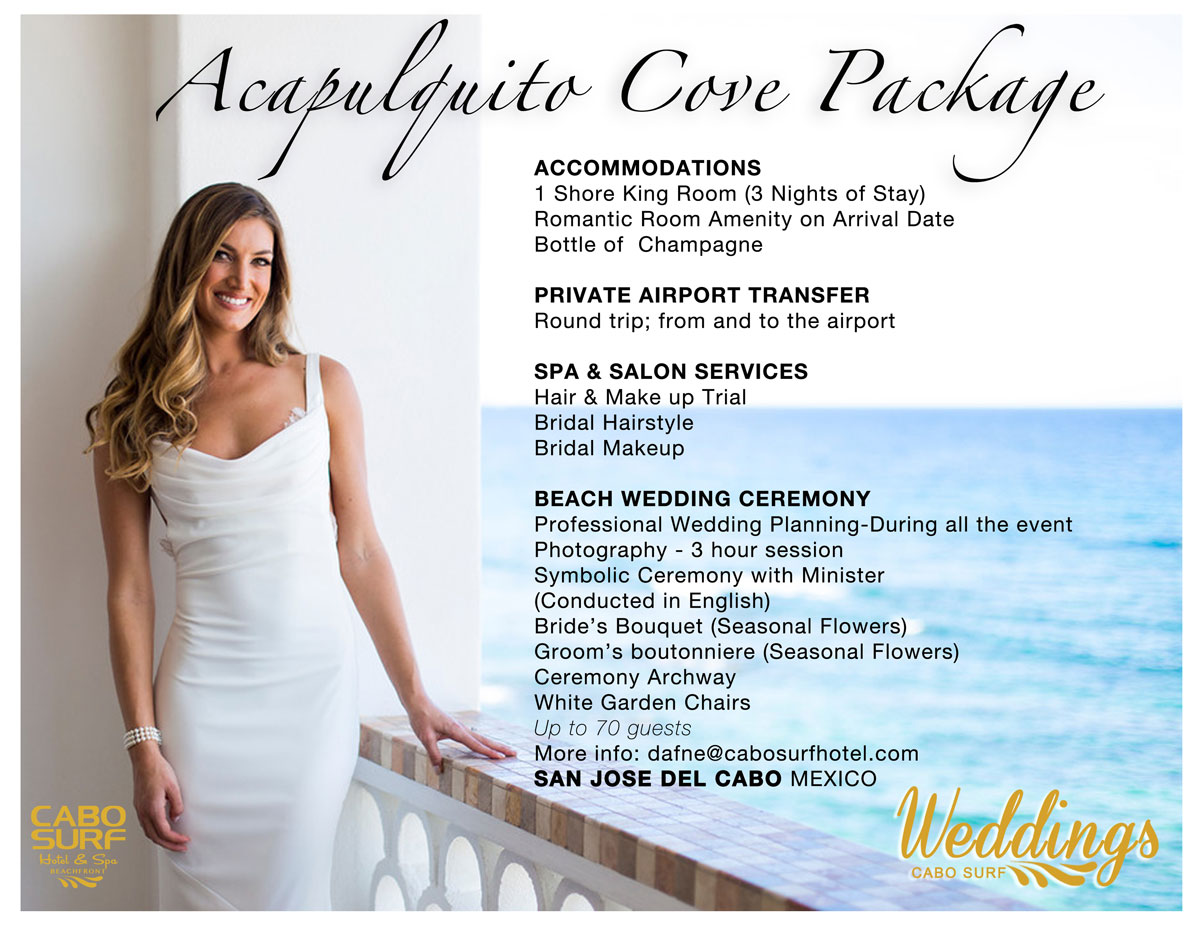 Acapulquito Cove Package